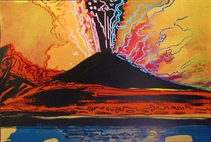 vesuvius [iib.365] by andy warhol